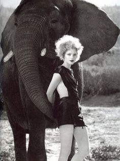 Elephant fashion, ha!