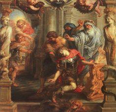 #art #Rubens - La morte di Achille