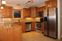 Wood Kitchen Cabinets And Creative Interiors Kitchen Island For A New Homes Designs In Kitchen Decorating Ideas 50 Kitchen interior ideas   zoonek.com