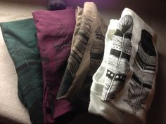 #BrineSupply Tshirts. Feather Design - Psalm 63:7 - www.brinesupply.tumblr.com
