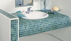 Jasba Jasba Mosaik - Creating space for your ideas. Greens and turquoise
