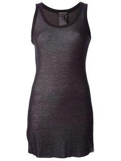 Ann Demeulemeester semi sheer tank top | womens tank top | womenswear | womens fashion | womens style | wantering http://www.wantering.com...