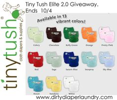 """The Tiny Tush Elite is a great cloth diaper to be used in a daycare setting or for when your child is in the care of others less familiar with cloth. As part of my ongoing """"Cloth in Daycare"""" series this month I am highlighingt cloth diapers that wo"""
