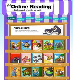 FREE Online books for beginning readers!: