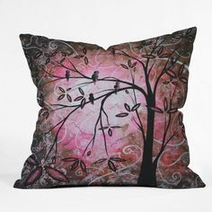 give your home a beautiful and enchanting vibe perhaps you should consider using Cherry blossom room decor. In addition to being exquisitely beautiful cherry blossoms symbolize peace and relaxation. Also found under Cherry Blossom room decor Cherry Blossoms room decor Cherry Blossom Wall Art Cherry Blossom Accent Pillows Cherry Blossom decorative accents DENY Designs Madart Inc. Cherry Blossoms Throw Pillow, 20 x 20
