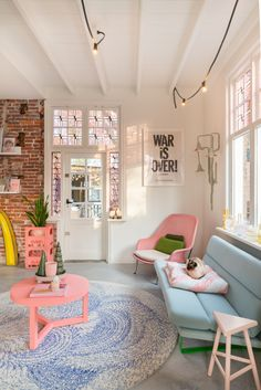 Home Interior Design .Home Interior Design Interior Pastel, Pastel Decor, Pastel Colors, Colorful Decor, Aesthetic Room Decor, Dream Rooms, House Rooms, Home Decor Inspiration, Decor Ideas