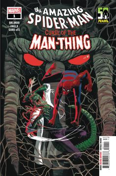 Is Curse of the Man-Thing the comic that will put this character on the map? James wonders that in his review for Spider-Man: Curse of the Man-Thing from Marvel.