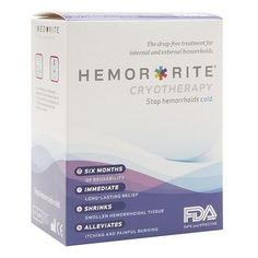 Hemor-Rite Cryotherapy The Drug-Free Treatment for Internal and External Hemmorhoids - 1 ea