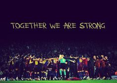 As a team.and only as a team. Fc Barcelona, Soccer Quotes, Team Quotes, Football Quotes, Football Stuff, Soccer Motivation, Play Soccer, Soccer Girls, We Are Strong