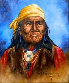 Geronimo in red