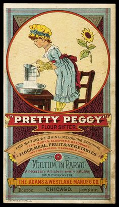 "The Adams & Westlake Manufacturing Company / ""Pretty Peggy"" 