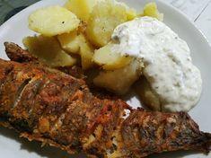 Tepsiben sült hekk MiCsillától | MiCsilla receptje - Cookpad receptek Meat, Chicken, Food, Beef, Meal, Essen, Hoods, Meals, Eten
