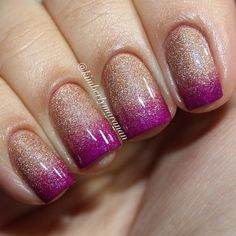 OPI - DS Classic and China Glaze - Flying Dragon gradient   @kimberlymaranan