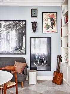 Peter Neumeister home in Elle Decoration Sweden Dining Room Furniture Design, Furniture Design Modern, Decor, Gravity Home, Elle Decor, Living Room Designs, Living Room Paint, Formal Dining Room Furniture, Room Decor