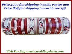 Want to gift to bride do not take tension? Want to give bridal lehenga .want to gift bridal chura, Bridal bangles, Designer bangles, White wedding chura, Designer bridal chura, Indian bridal chura, Indian wedding chura, Diamond bridal maroon chura Visit to www.weddingchura.com