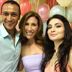 Chris Bisson, Gaynor Faye & Roxy Shahidi (Summer Fate 2015)