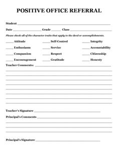 This is perfect for those kids who never seem to get recognition. You will need the cooperation of your administrator but this can be implemented o...