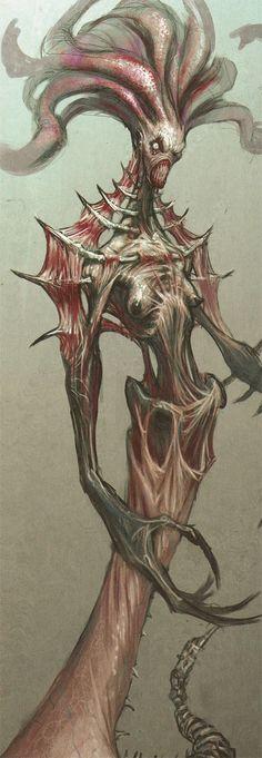 Gorgon- God of War concept art
