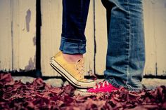 sweet engagement shot (but I'd go with boots ;)