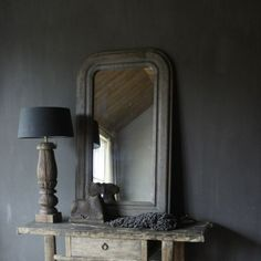 Eiken houten toog Spiegel - Herbers Lifestyle