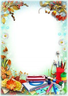 Boarder Designs, Frame Border Design, Page Borders Design, Simple Background Images, Kids Background, Flower Frame Png, Rose Frame, School Binder Covers, Teacher Classroom Decorations