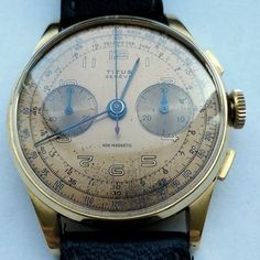 Dream Watches, Breitling, Vintage Watches, 18k Gold, Tictac, Accessories, Clocks, Nice Watches, Clock Art