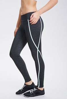 Running Seams Workout Leggings | Forever 21 Canada | $23.90
