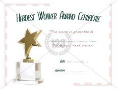 39 best award certificate templates images on pinterest award