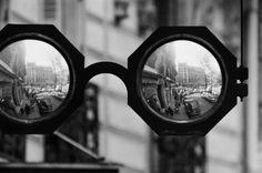 Robert Doisneau // Shopwindow And Signboard, 5 Place Des Ternes, Leroy Optician Shop, 1967 © Atelier Robert Doisneau