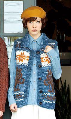 cowichan squirrel vest