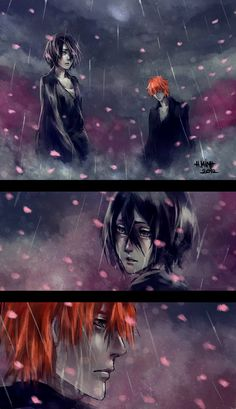 If I were the Rain... by NanFe