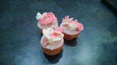 Cupcakes, butterfly, Pink, White, rose, flowers, farfalle, rosa, bianco, rose, fiori, ruffles, pdz, mmf, pasta di zucchero, fondent