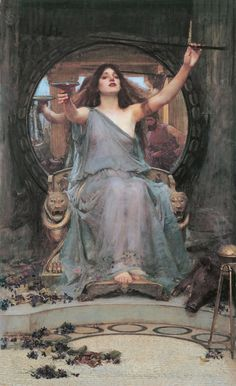 John William Waterhouse - Circe offering the cup to Ulysses, 1891