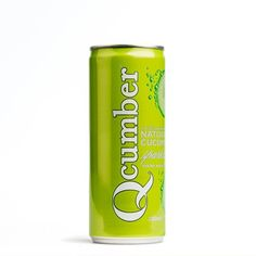 Qcumber can of sparkling cucumber drink - new to Cotswold Fayre this July 2015