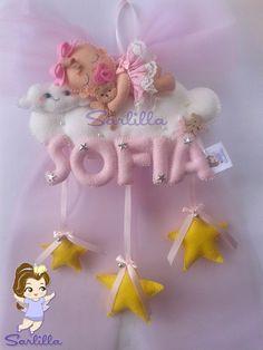 Le creazioni di Sarlilla: Fiocco nascita per Sofia