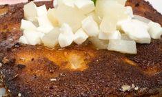 Receta de Bizcocho de coco y pera