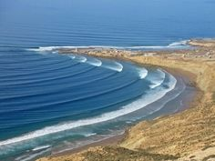Immesouane - the longest right hand point break in Morocco!   We clocked someone riding a wave for 1min 35 seconds…. thigh busting.  www.SurfBerbere.com