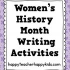 Just in time for Women's History Month this freebie includes 10 pages for 10 different important women. Your students will practice their handwriti...