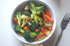 Food and the City | a food + fashion + lifestyle blog: quick veggie stir fry
