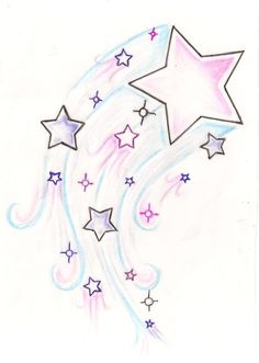Shooting Star Tattoo 3 by ~Metacharis on deviantART