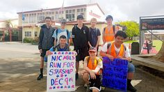 Students Starship Trek raises awareness - A group of year ten students from Pukekohe High school have completed their Starship Trek a journey of walking 16 kilometres from Pukekohe to Pokeno . Local News, New Zealand, Trek, High School, Students, Walking, Journey, Group, Grammar School