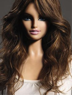 Barbie restyled hair - how real!