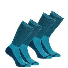 Tura kiegészítok Túrázás - Arpenaz 100 warm meleg zokni QUECHUA - Túracipő, kirándulócipő, hótaposó