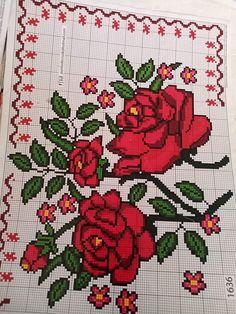 Cross Stitch, Videos, Flowers, Cross Stitch Love, Cross Stitch Embroidery, Counted Cross Stitches, Cross Stitch Kitchen, Cross Stitch Pictures, Crossstitch