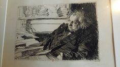 Anders Zorn - Petit Palais Paris nov. 2017 - Ernest Renan - (eau forte)