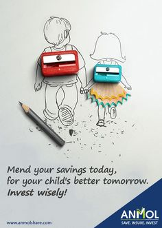 #Save today by creating a plan for your Childs independence, every penny saved will help them tomorrow  #ChildSavingPlan #Save #Secure #Invest #Kids #Children