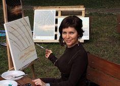 Carmern Bayer Polaroid Film, Graphic Design, Education, Artist, Painting, Painting Art, Paintings, Teaching, Painted Canvas