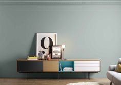 Contemporary style wooden sideboard AURA C9-2 by TREKU design Angel Martí, Enrique Delamo
