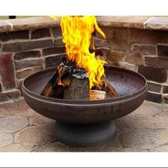 Ohio Flame 24in. Diameter Fire Pit in Natural Steel Finish