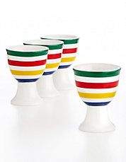 Eggie Egg Cups (Primary Colors Stripe)